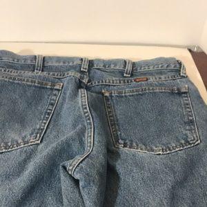 Rustler W34 x L29 blue jeans